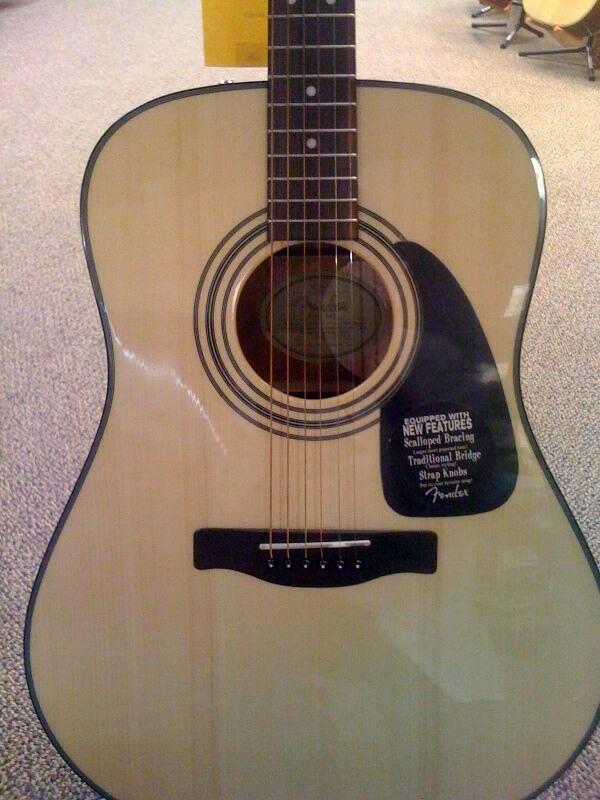 the fender dg 8s six string guitar. Black Bedroom Furniture Sets. Home Design Ideas